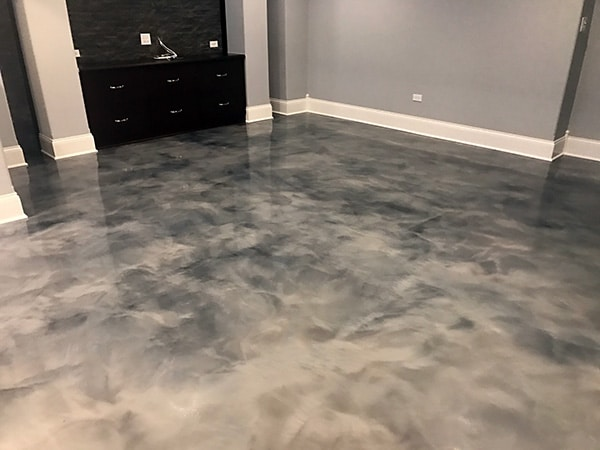 pearl virginia pin flooring basement white floor county epoxy fairfax pinterest